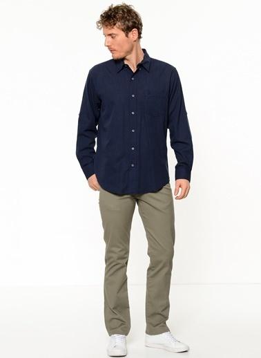Wrangler Uzun Kollu Gömlek Lacivert
